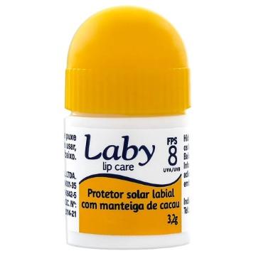 551551 Protetor Solar Labial Com Manteiga de Cacau Laby FPS 8 3,2g