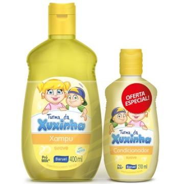 162407 Kit Shampoo e Condicionador Turma da Xuxinha Suave Baruel