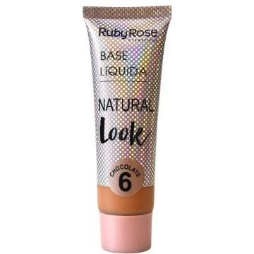 2805 Base Líquida Natural Chocolate 6 Ruby Rose 29ml