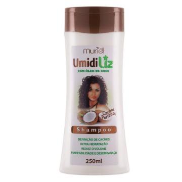 114080 Shampoo Umidiliz Cachos Perfeitos Óleo de Coco Muriel 250ml