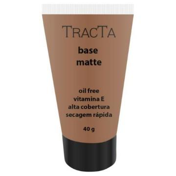 631472 Base Líquida Alta Cobertura Matte Cor 6 Oil Free Tracta 40g