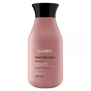 22109 Shampoo Ultra Hidratante Nativa SPA Monoi e Argan Boticário 300ml