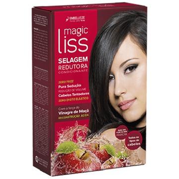 44951 Kit Selagem Redutora Embelleze Magic Liss Vinagre de Maçã