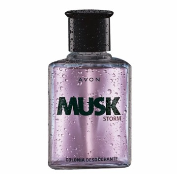 531185 Colônia Musk Storm Avon 90ml