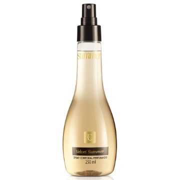 73880 Deo Colônia Spray Velvet Summer Eudora 250ml