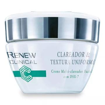 527469 Creme Multi-Clareador Facial Renew Clinical Avon 30g