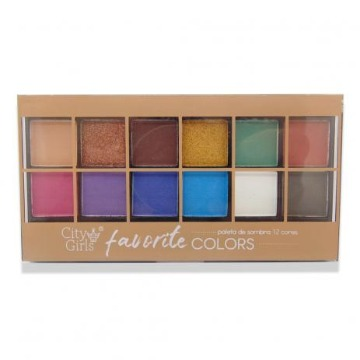 120892 Paleta de Sombras CG110 Cor A City Girls