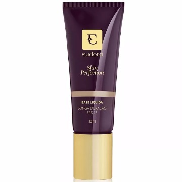 26788 Base Líquida Skin Perfection Bege Escuro 2 Eudora 30ml