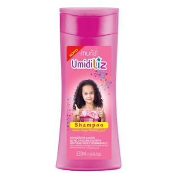 113366 Shampoo Umidiliz Kids Cachos Perfeitos Muriel 250ml