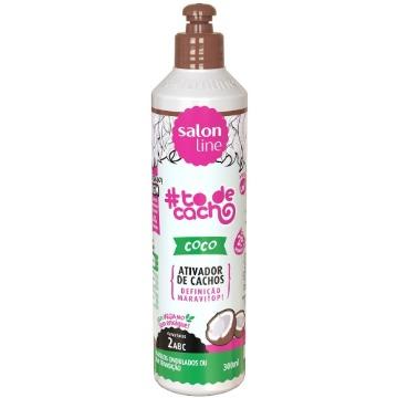 952638 Ativador #todecachos Definição Maravitop Coco Salon Line 300ml