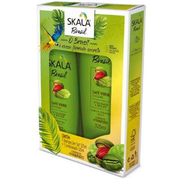 215245 Kit Shampoo + Condicionador Café Verde e Ucuuba Skala