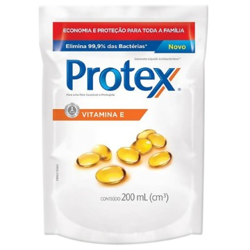 027257 Sabonete Líquido Vitamina E Refil Protex 200ml