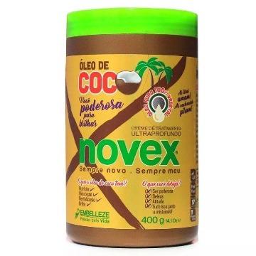 562634 Creme Tratamento Ultraprofundo Novex  Óleo de Coco 400g