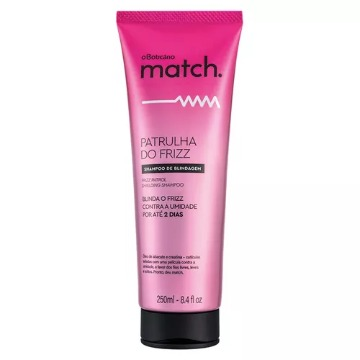 70043 Shampoo Patrulha do Friz Match Boticário 250ml