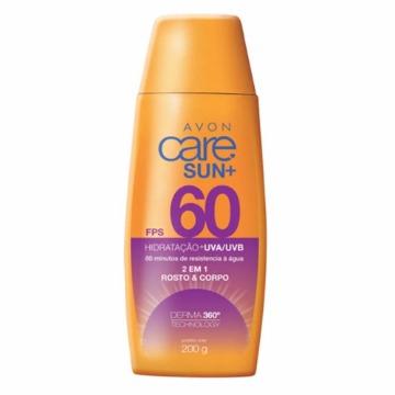 514175 Protetor Solar Corporal Care Sun FPS 60 Avon 200g