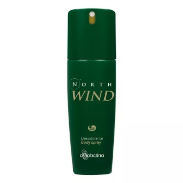 23496 Desodorante Spray North Wind Regular Boticário 100ml