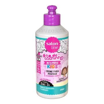 951150 Creme Pentear #todecacho Kids Molinhas Salon Line 300ml