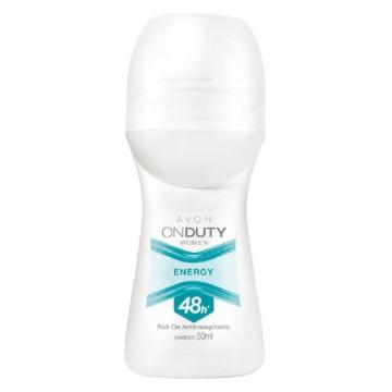 503458 Desodorante Roll-On On Duty Women Energy Avon 50ml
