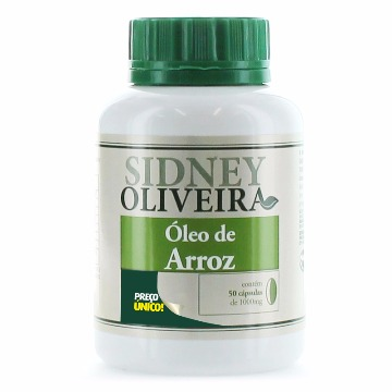 20541 Óleo de arroz - Sidney Oliveira Rahda 50 cápsulas