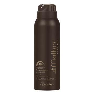 29098 Desodorante Aerossol Malbec Absoluto Boticário 125ml