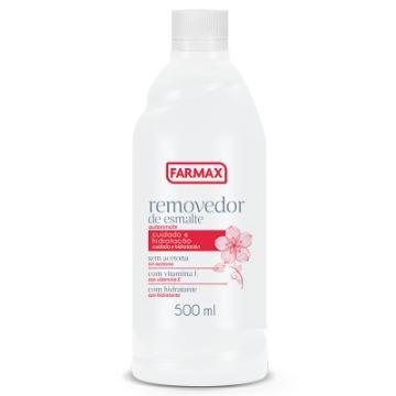207271 Removedor de Esmalte Sem Acetona Farmax 500ml