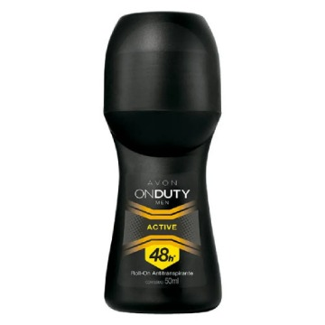 507756 Desodorante Roll-On On Duty Men Active Avon 50ml