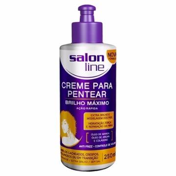 95010 Creme Para Pentear Brilho Máximo Salon Line 250ml