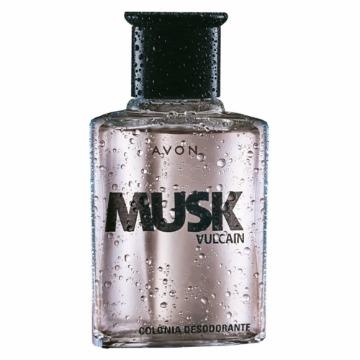 531164 Colônia Musk Vulcain Avon 90ml