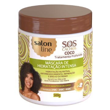 348523 Máscara de Tratamento Salon Line Coco Cachos S.O.S 500g