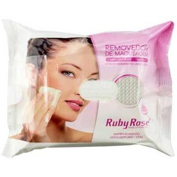 441997 Lenço Removedor de Maquiagem 25 Unidades Ruby Rose