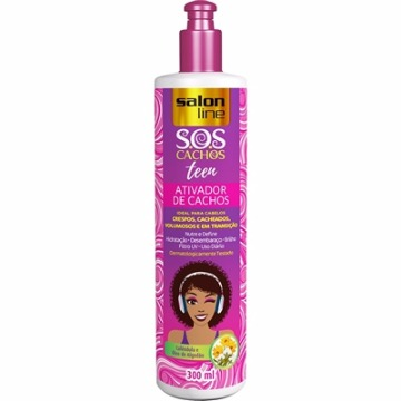 345669 Ativador De Cachos S.O.S Teen Salon Line 300ml