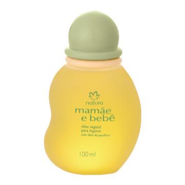 51787 Óleo Vegetal para Higiene Mamãe e Bebê Natura 100ml