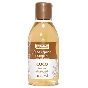 211209 Óleo Corporal e Capilar Coco Farmax 100ml