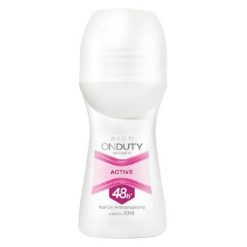 511927 Desodorante Roll-On On Duty Women Active Avon 50ml