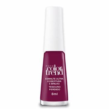 525240 Esmalte Colortrend Tesouro Perdido Avon 8ml