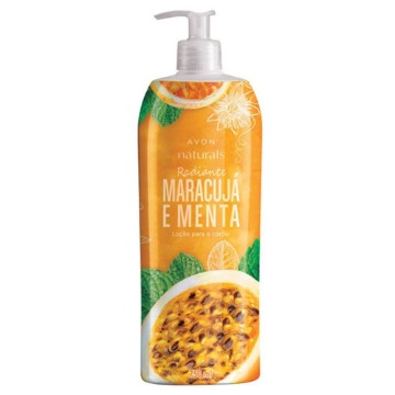 531367 Hidratante Naturals Maracujá e Menta Avon 750ml