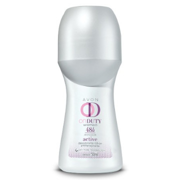 507670 Desodorante Roll-On On Duty Active Avon 50ml