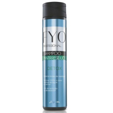 11105 Shampoo Antirresíduo Detox Fyo Profissional Jequiti 300ml