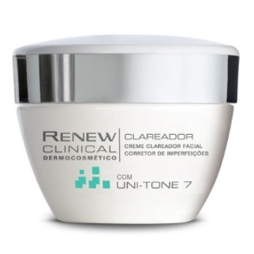 526867 Creme Renew Clinical Dermocosmético Clareador Facial Avon 30g