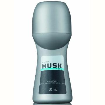 502695 Desodorante Roll-On Musk Oxygen Avon 50ml