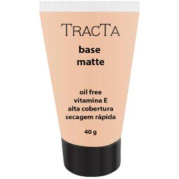 115353 Base Líquida Alta Cobertura Matte Cor 2 Oil Free Tracta 40g