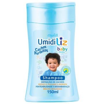 114035 Shampoo Umidiliz Baby Menino Cachos Perfeitos Muriel 150ml