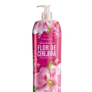531325 Hidratante Naturals Flor de Cerejeira Avon 750ml