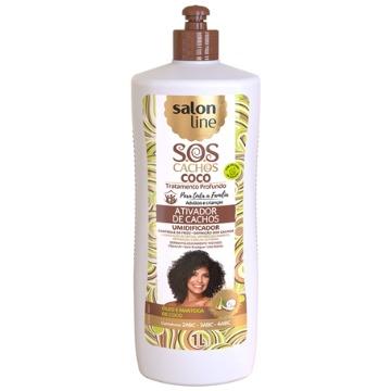 957046 Ativador de Cachos Salon Line Coco Umidificador S.O.S 1l
