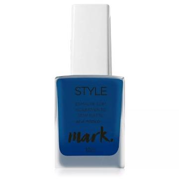 517830 Esmalte Style Semi Matte Azul Místico Avon 12ml