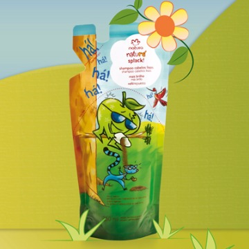 27383 Shampoo Naturé Splack Refil Natura 250ml