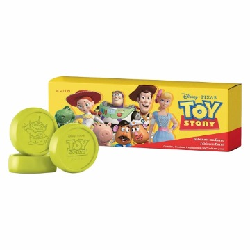 502765 Sabonete Barra Toy Story 3 Unidades 50g (cada) Avon