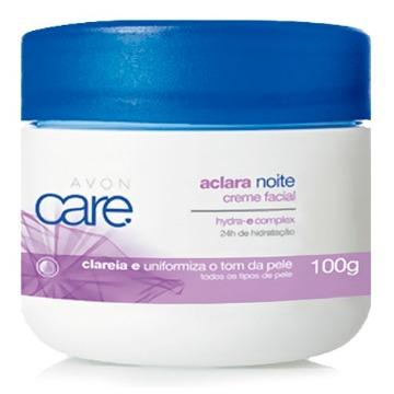506598 Creme Facial Aclara Care Noite Avon 100g