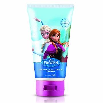 500851 Shampoo Cabelo e Corpo Frozen Avon 150ml