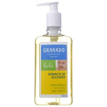 904621 Sabonete Líquido Granado Glicerina Bebê 250ml